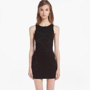 Maje Denier Little Black Dress